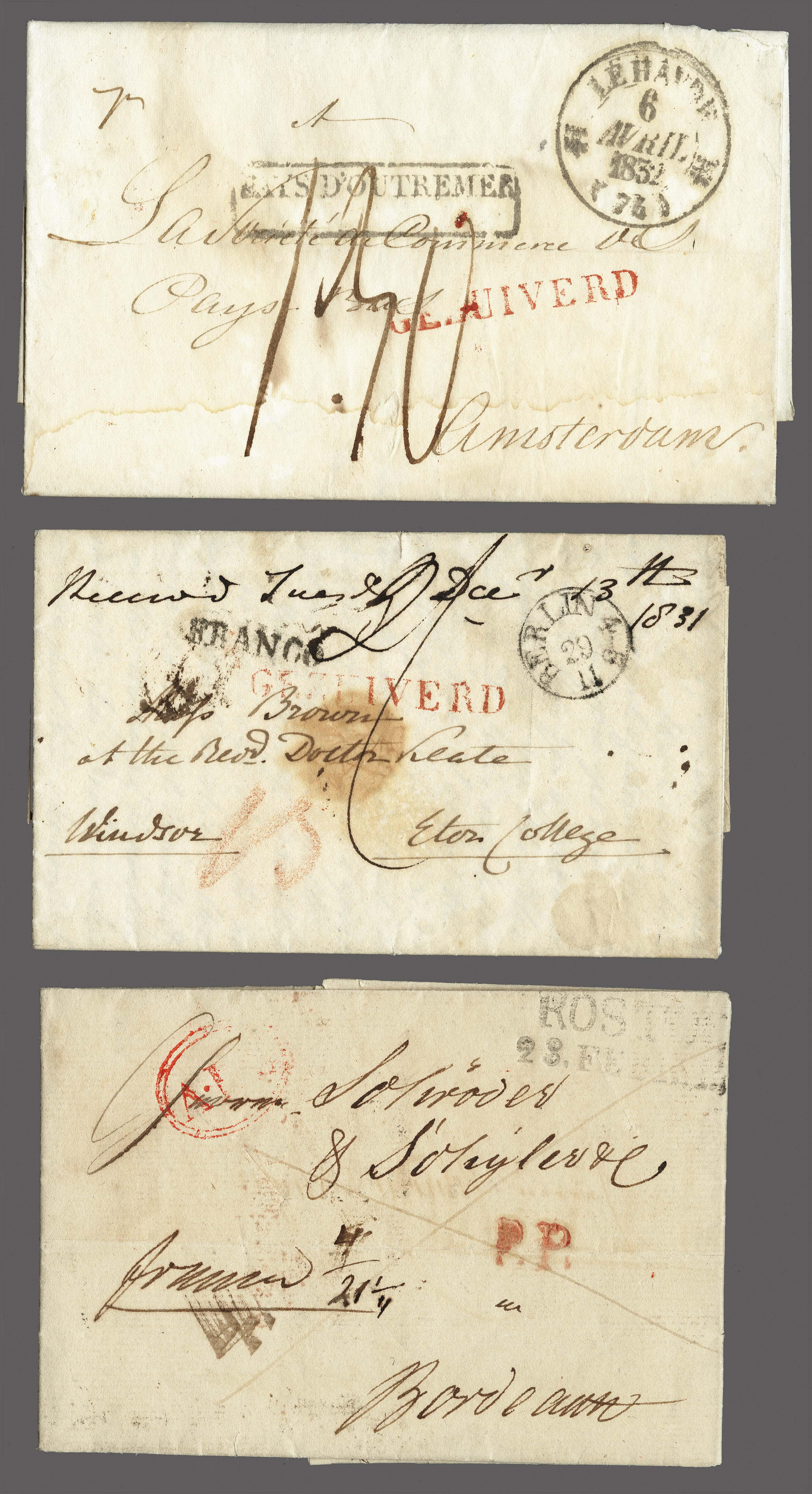 Lot 2462 - Netherlands and former colonies Netherlands -  Corinphila Veilingen Auction 250-253 - Day 3 - Netherlands and former colonies - Single lots & Picture postcards