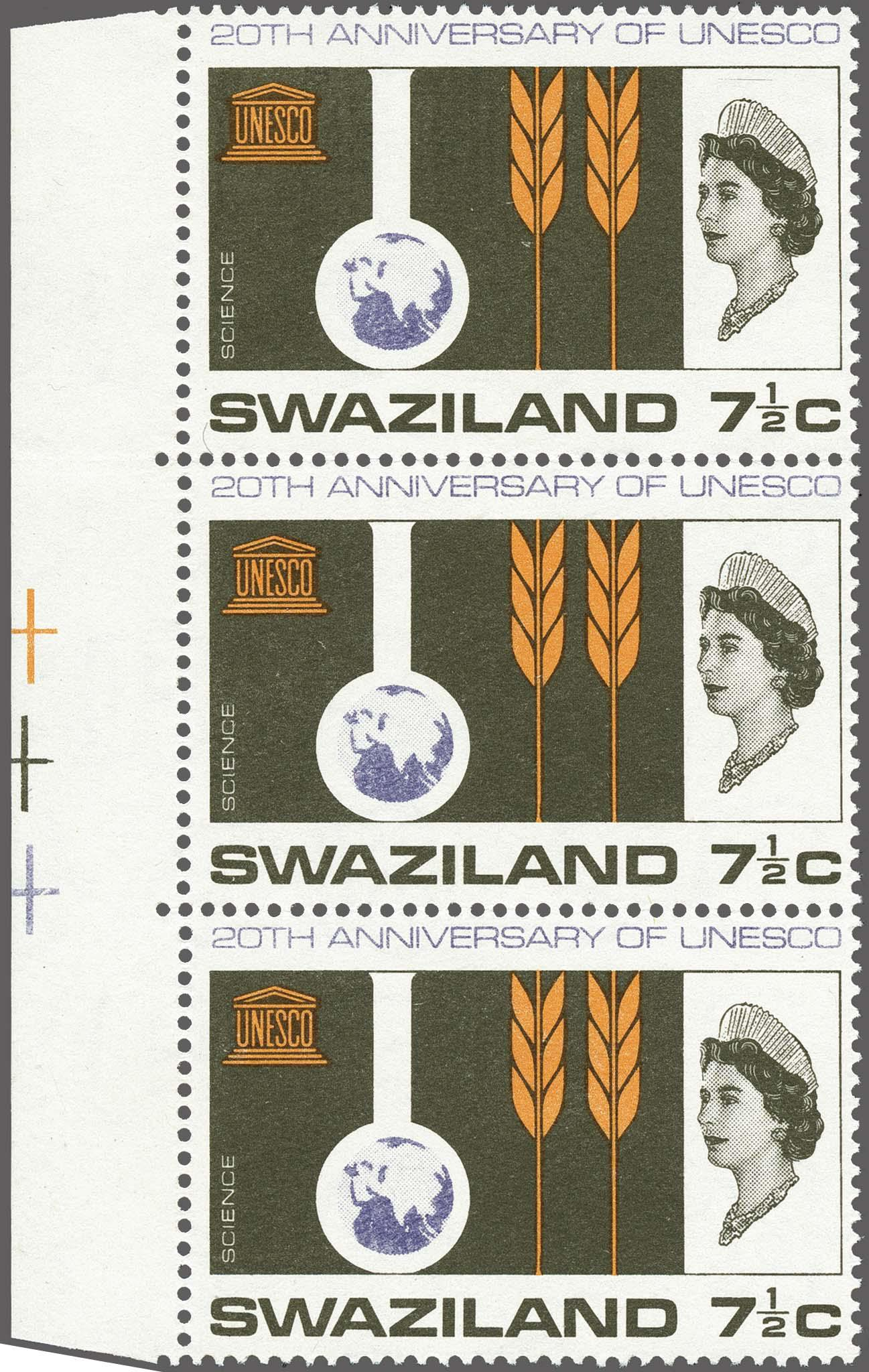 Lot 190 - Great Britain and former colonies swaziland -  Corinphila Veilingen Auction 250-253 - Day 1 - Foreign countries