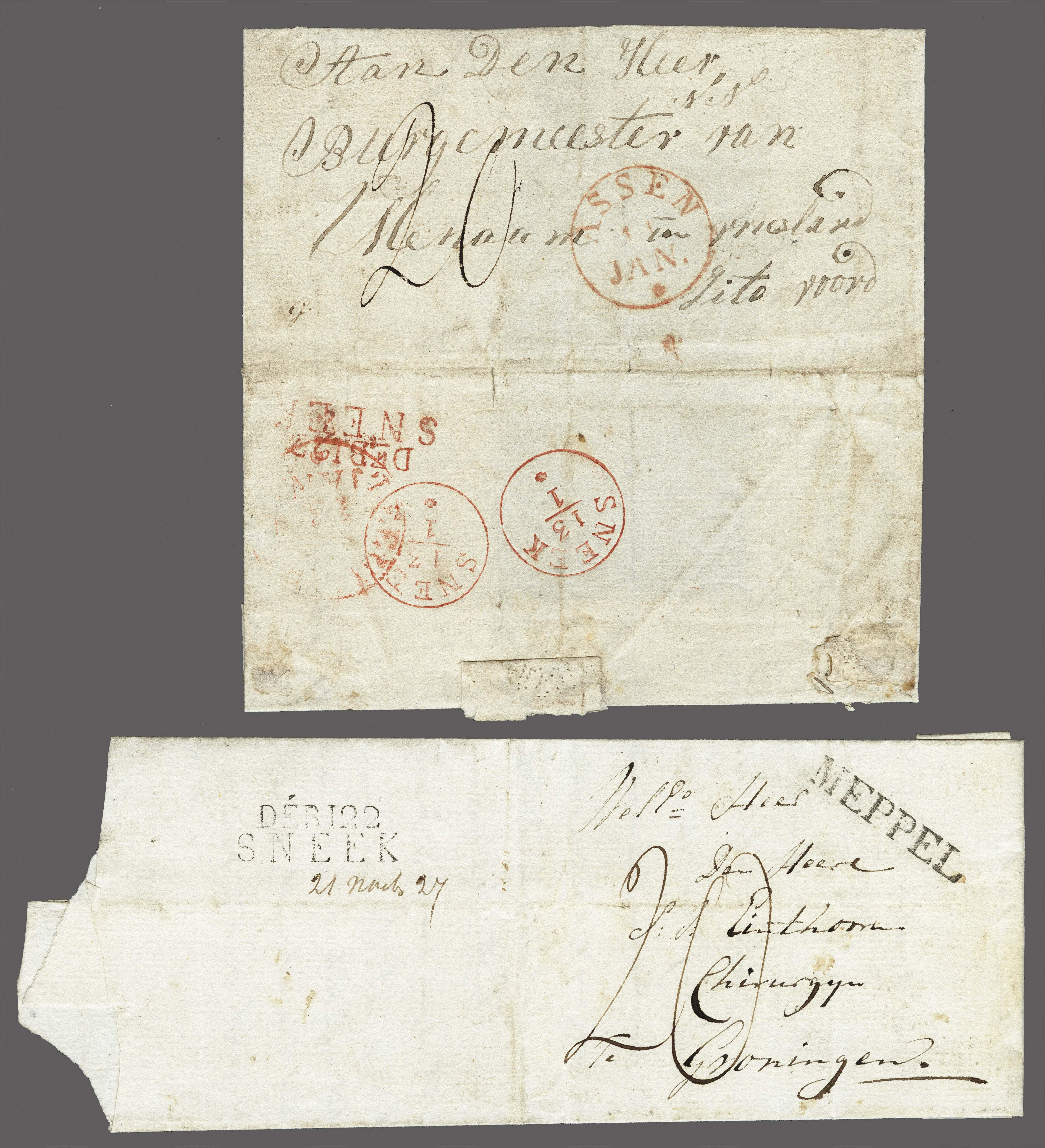 Lot 2399 - Netherlands and former colonies Netherlands -  Corinphila Veilingen Auction 250-253 - Day 3 - Netherlands and former colonies - Single lots & Picture postcards