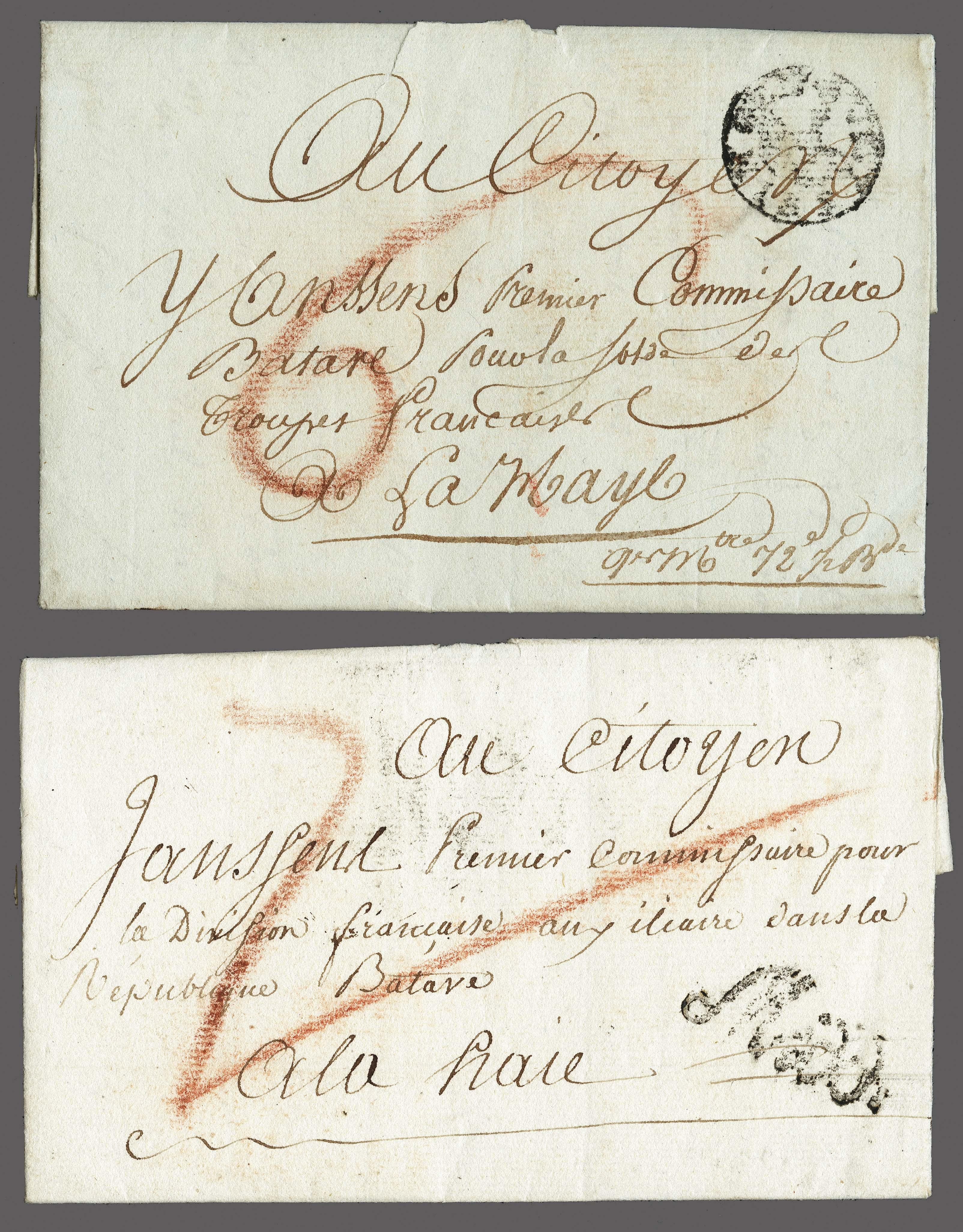 Lot 2314 - Netherlands and former colonies Netherlands -  Corinphila Veilingen Auction 250-253 - Day 3 - Netherlands and former colonies - Single lots & Picture postcards