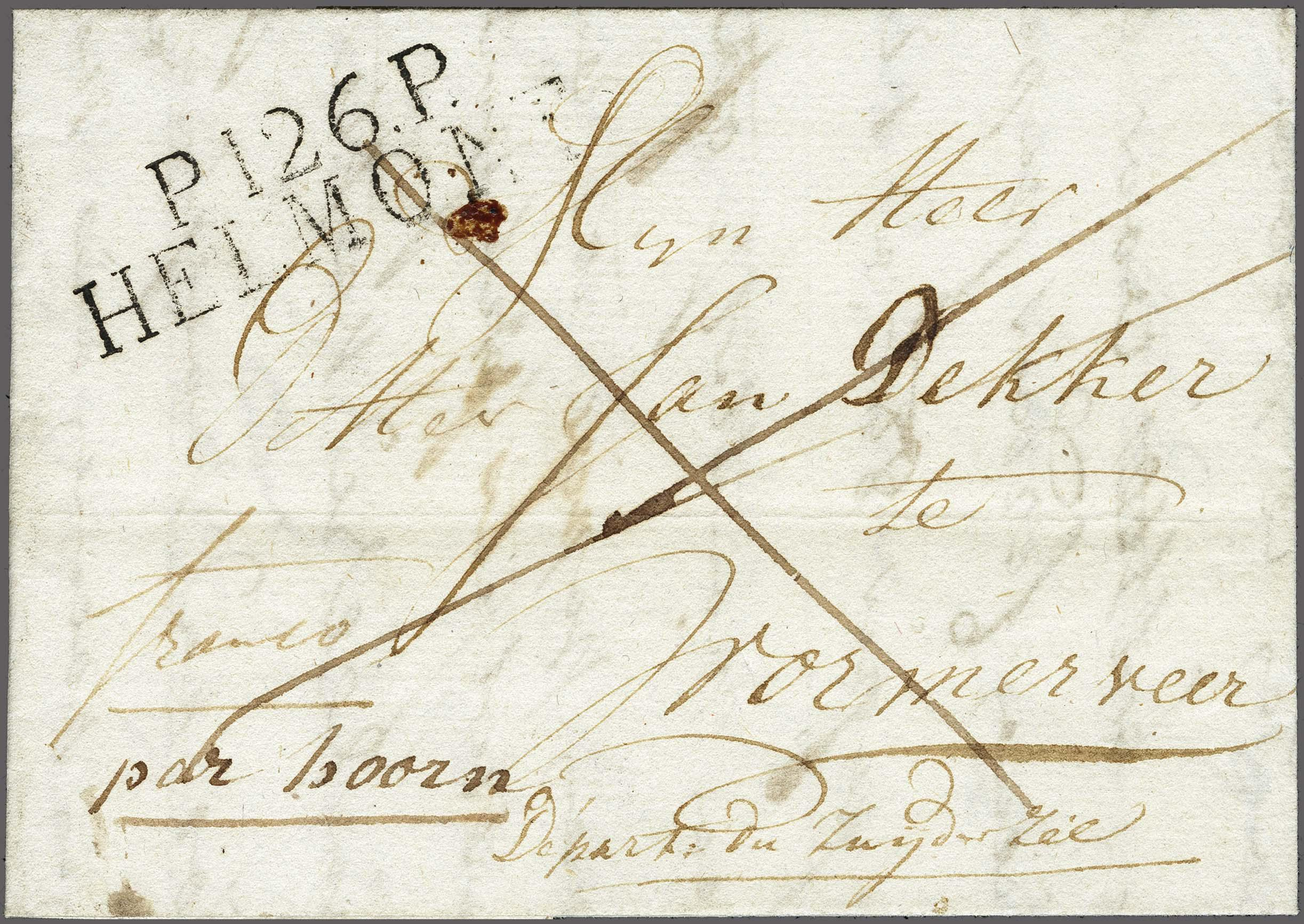 Lot 2372 - Netherlands and former colonies Netherlands -  Corinphila Veilingen Auction 250-253 - Day 3 - Netherlands and former colonies - Single lots & Picture postcards