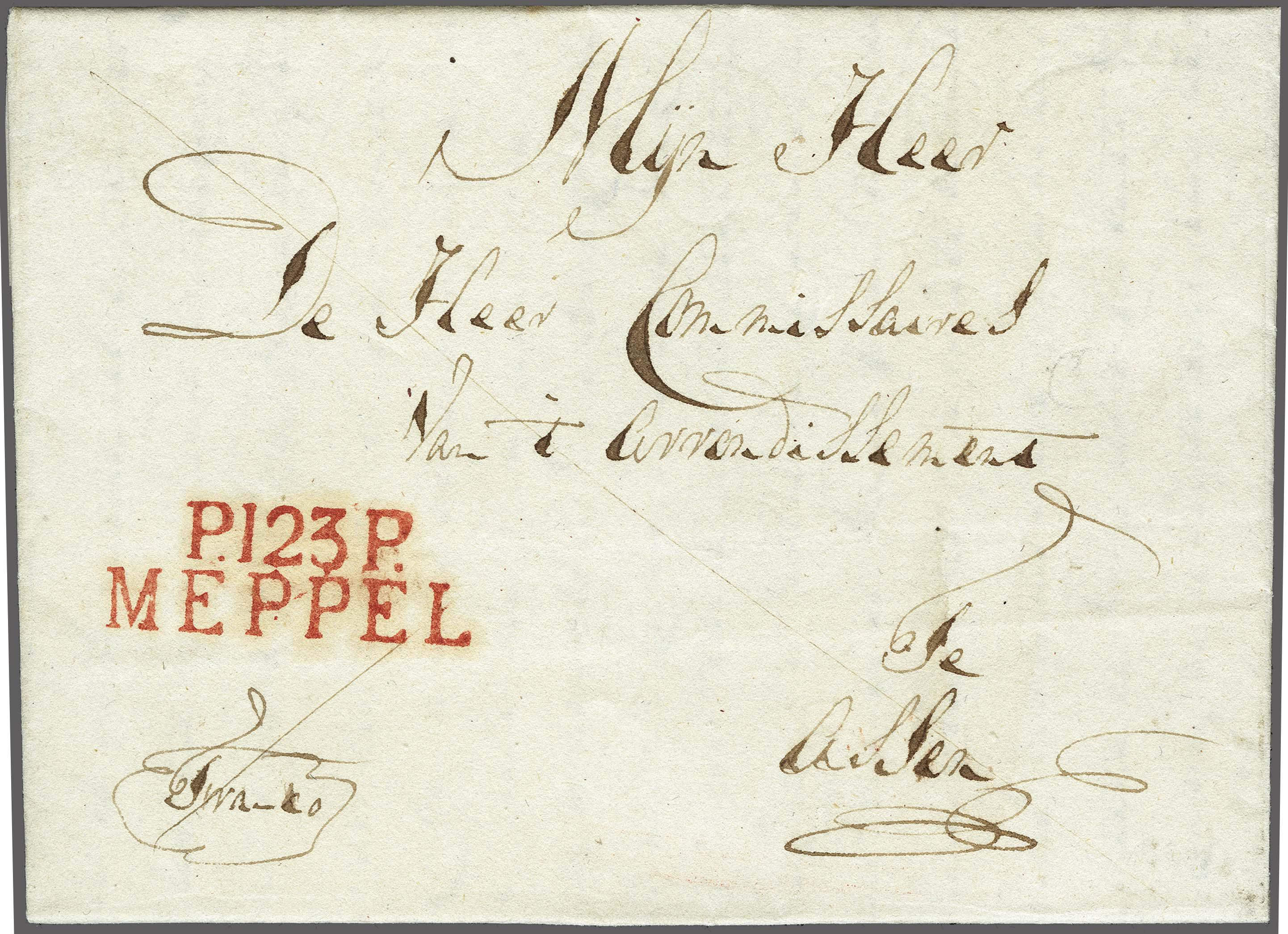 Lot 2357 - Netherlands and former colonies Netherlands -  Corinphila Veilingen Auction 250-253 - Day 3 - Netherlands and former colonies - Single lots & Picture postcards