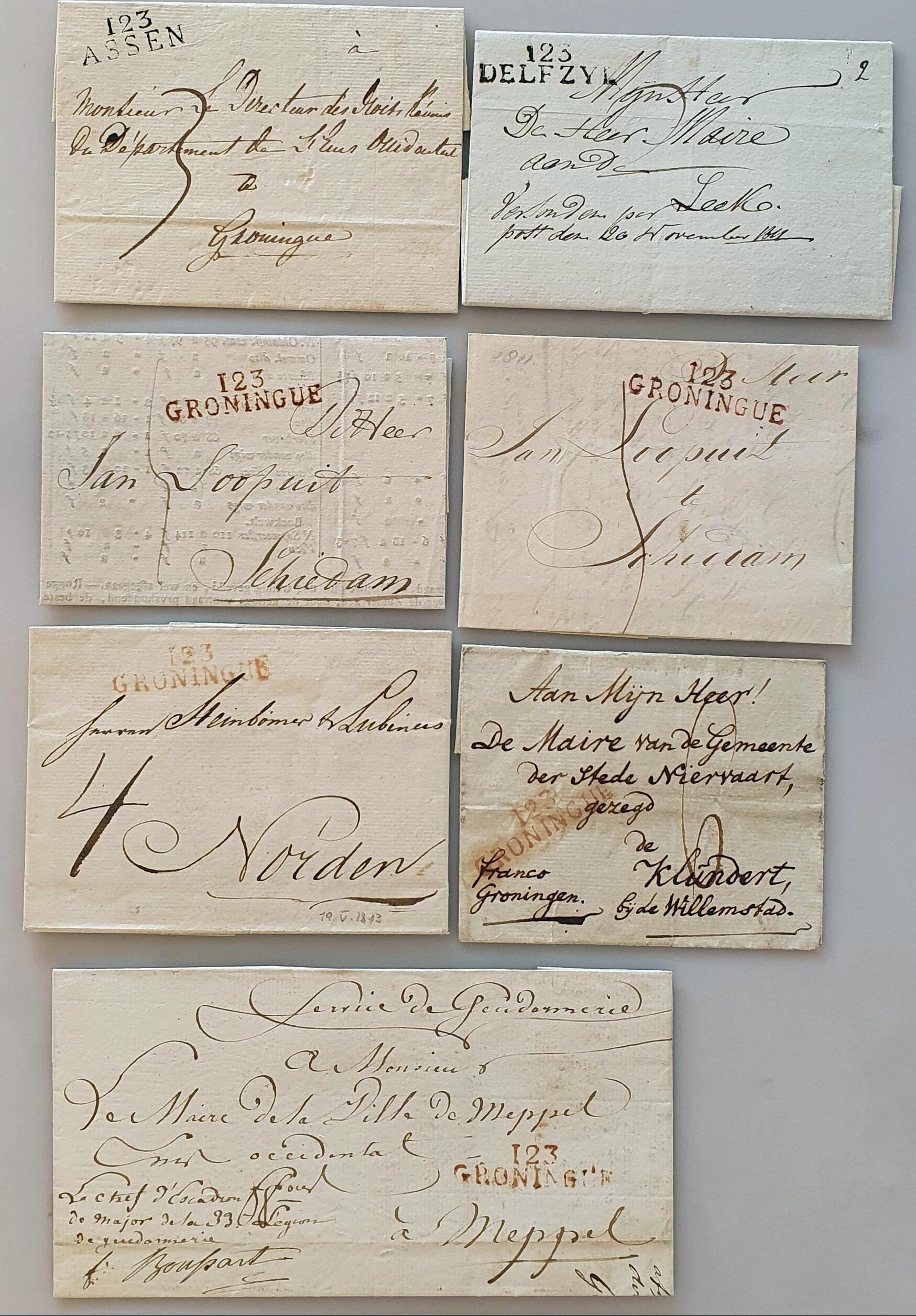 Lot 2359 - Netherlands and former colonies Netherlands -  Corinphila Veilingen Auction 250-253 - Day 3 - Netherlands and former colonies - Single lots & Picture postcards