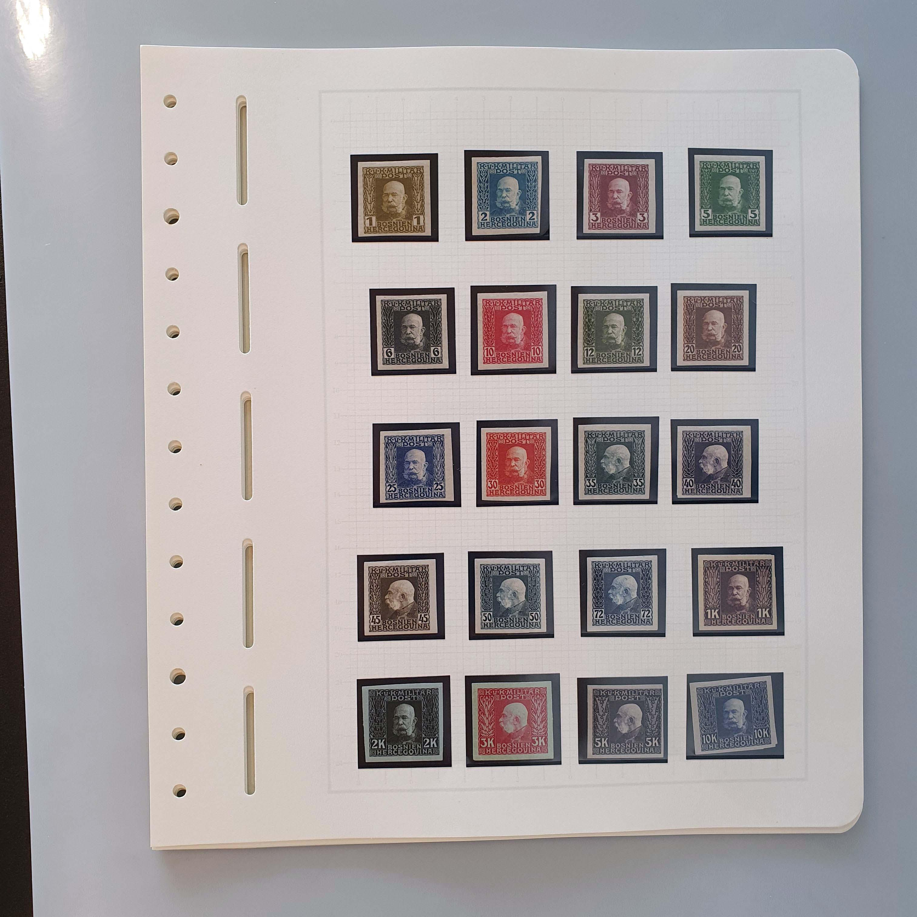 Lot 402 - Austria and former territories Bosnia and Herzegovina (Austrian) -  Corinphila Veilingen Auction 250-253 - Day 1 - Foreign countries