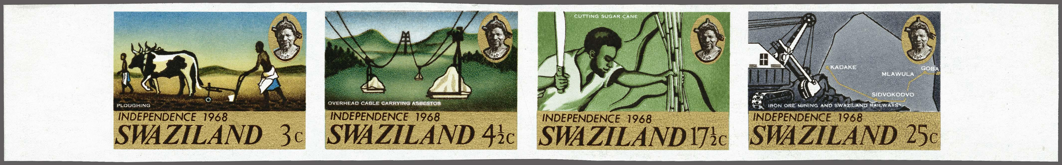 Lot 193 - Great Britain and former colonies swaziland -  Corinphila Veilingen Auction 250-253 - Day 1 - Foreign countries