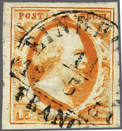 Lot 2493 - Netherlands and former colonies NL Semi-circular Cancellation -  Corinphila Veilingen Auction 250-253 - Day 3 - Netherlands and former colonies - Single lots & Picture postcards