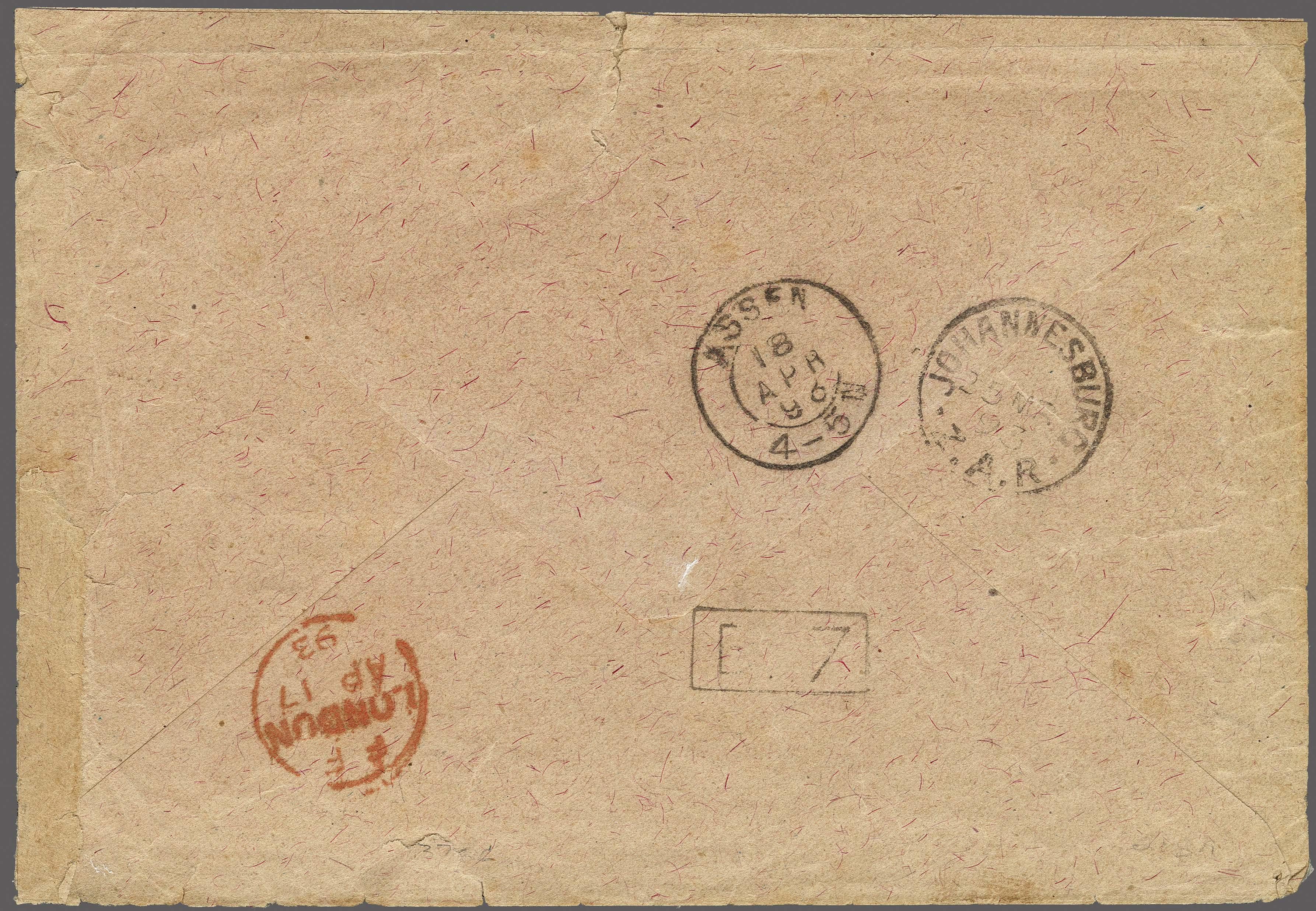 Lot 151 - Great Britain and former colonies swaziland -  Corinphila Veilingen Auction 250-253 - Day 1 - Foreign countries
