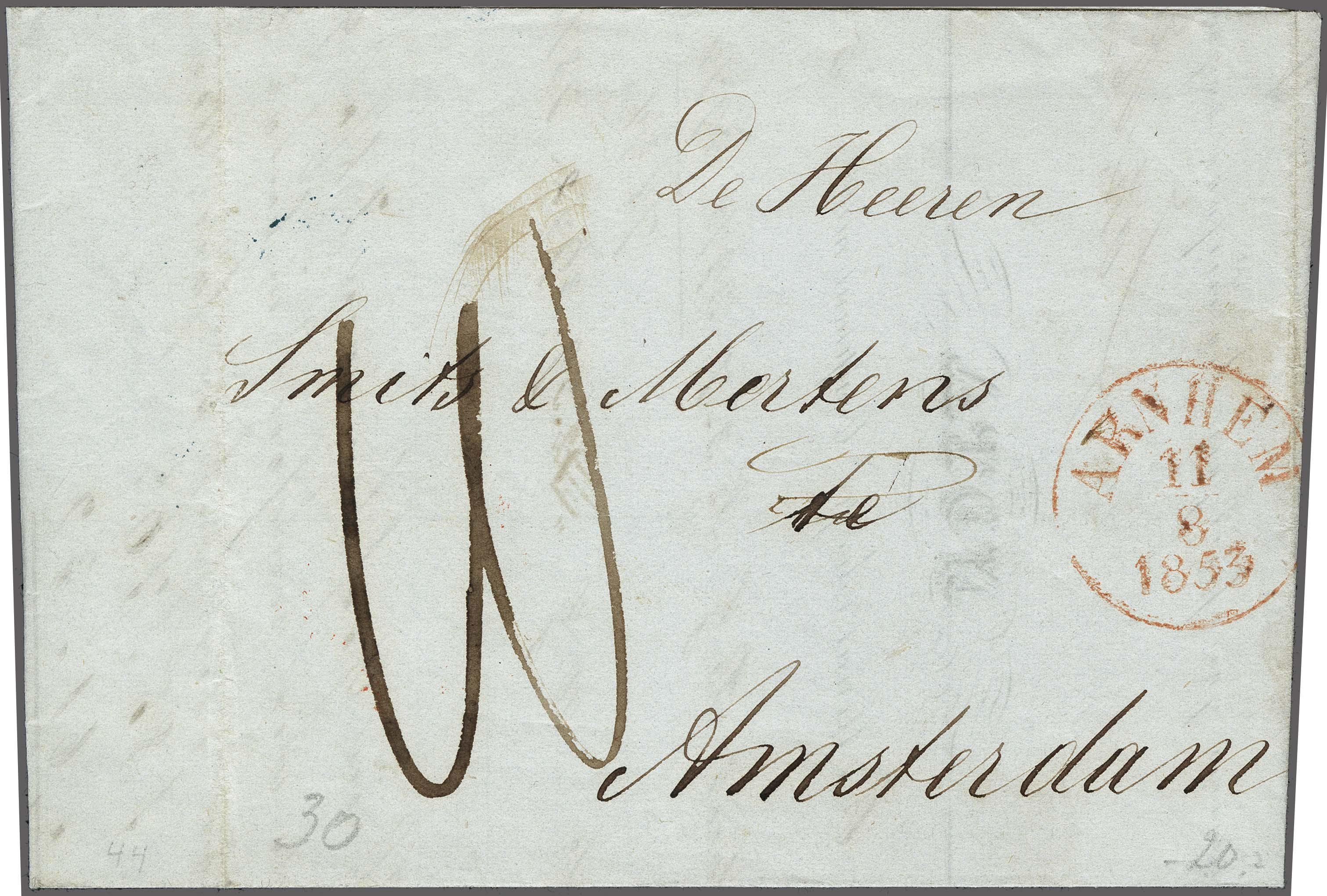 Lot 2428 - Netherlands and former colonies Netherlands -  Corinphila Veilingen Auction 250-253 - Day 3 - Netherlands and former colonies - Single lots & Picture postcards