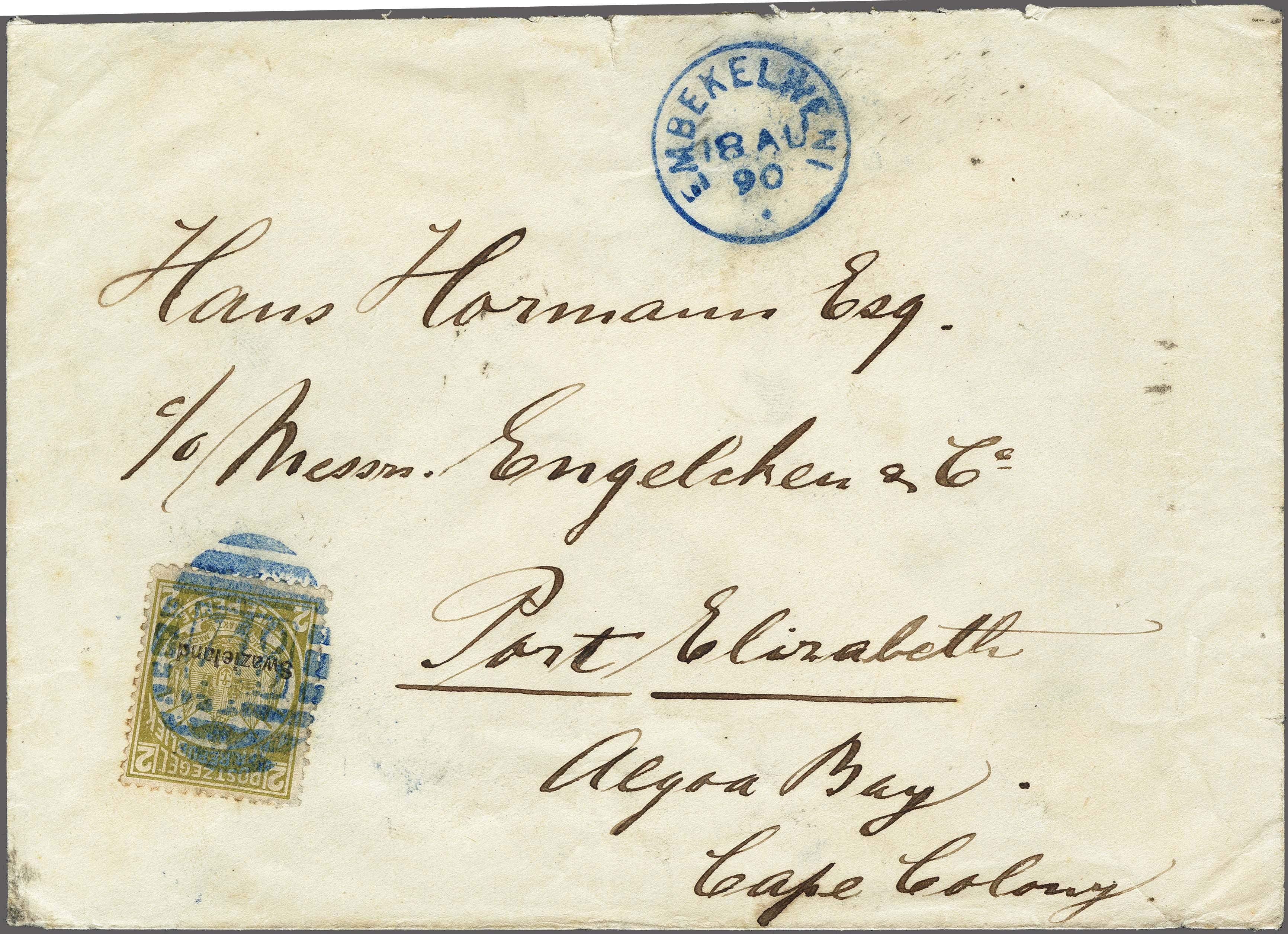Lot 155 - Great Britain and former colonies swaziland -  Corinphila Veilingen Auction 250-253 - Day 1 - Foreign countries