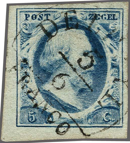 Lot 2489 - Netherlands and former colonies NL Semi-circular Cancellation -  Corinphila Veilingen Auction 250-253 - Day 3 - Netherlands and former colonies - Single lots & Picture postcards