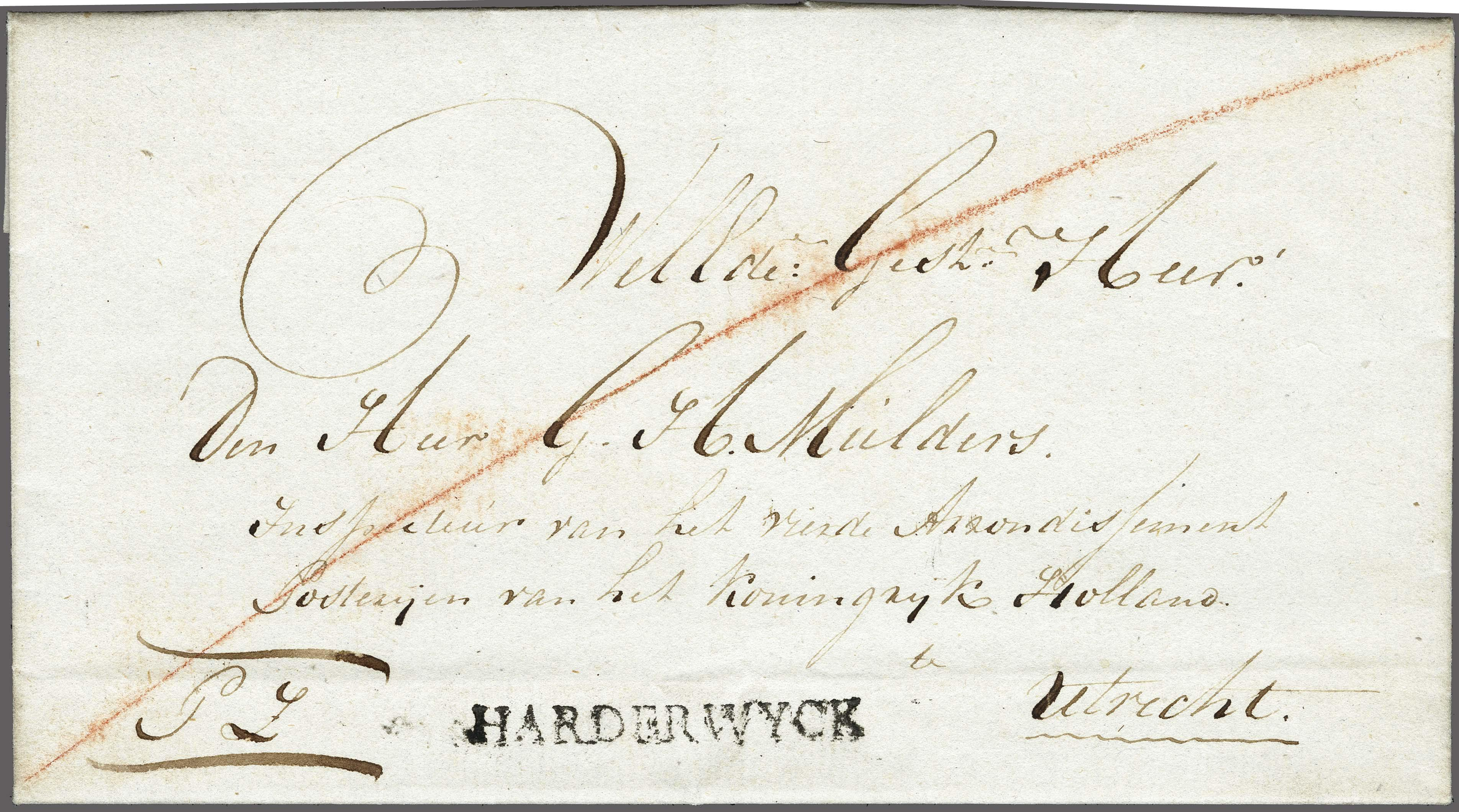Lot 2312 - Netherlands and former colonies Netherlands -  Corinphila Veilingen Auction 250-253 - Day 3 - Netherlands and former colonies - Single lots & Picture postcards