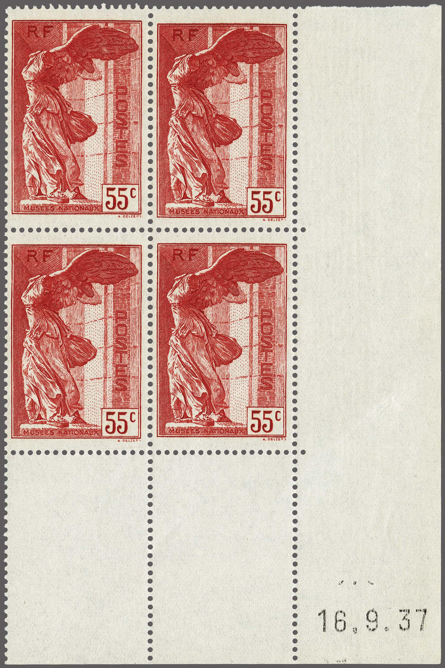 Lot 100 - France and former colonies France -  Corinphila Veilingen Auction 250-253 - Day 1 - Foreign countries
