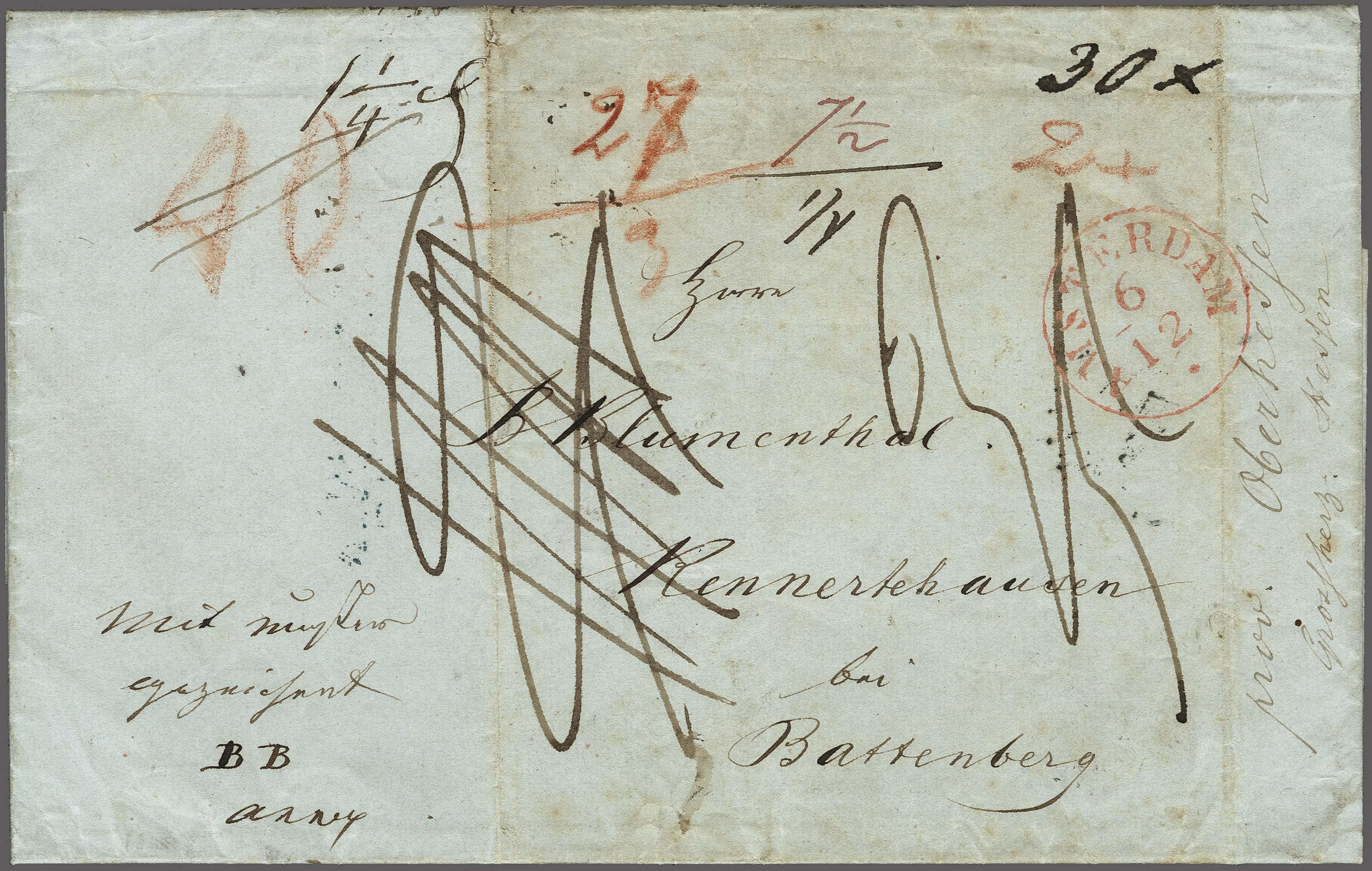 Lot 2411 - Netherlands and former colonies Netherlands -  Corinphila Veilingen Auction 250-253 - Day 3 - Netherlands and former colonies - Single lots & Picture postcards