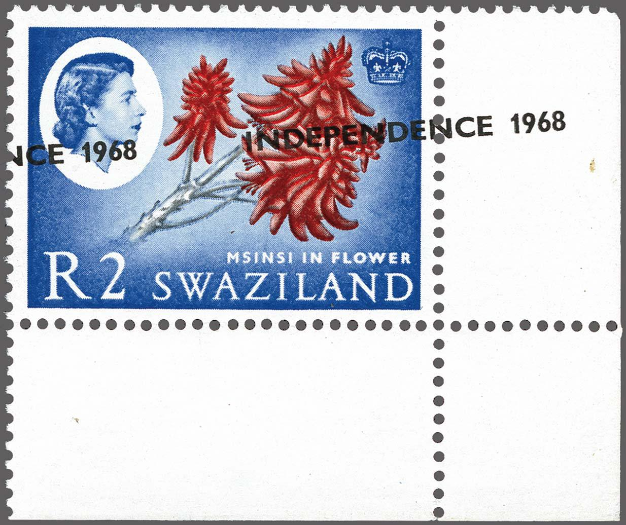 Lot 196 - Great Britain and former colonies swaziland -  Corinphila Veilingen Auction 250-253 - Day 1 - Foreign countries