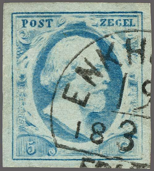 Lot 2494 - Netherlands and former colonies NL Semi-circular Cancellation -  Corinphila Veilingen Auction 250-253 - Day 3 - Netherlands and former colonies - Single lots & Picture postcards
