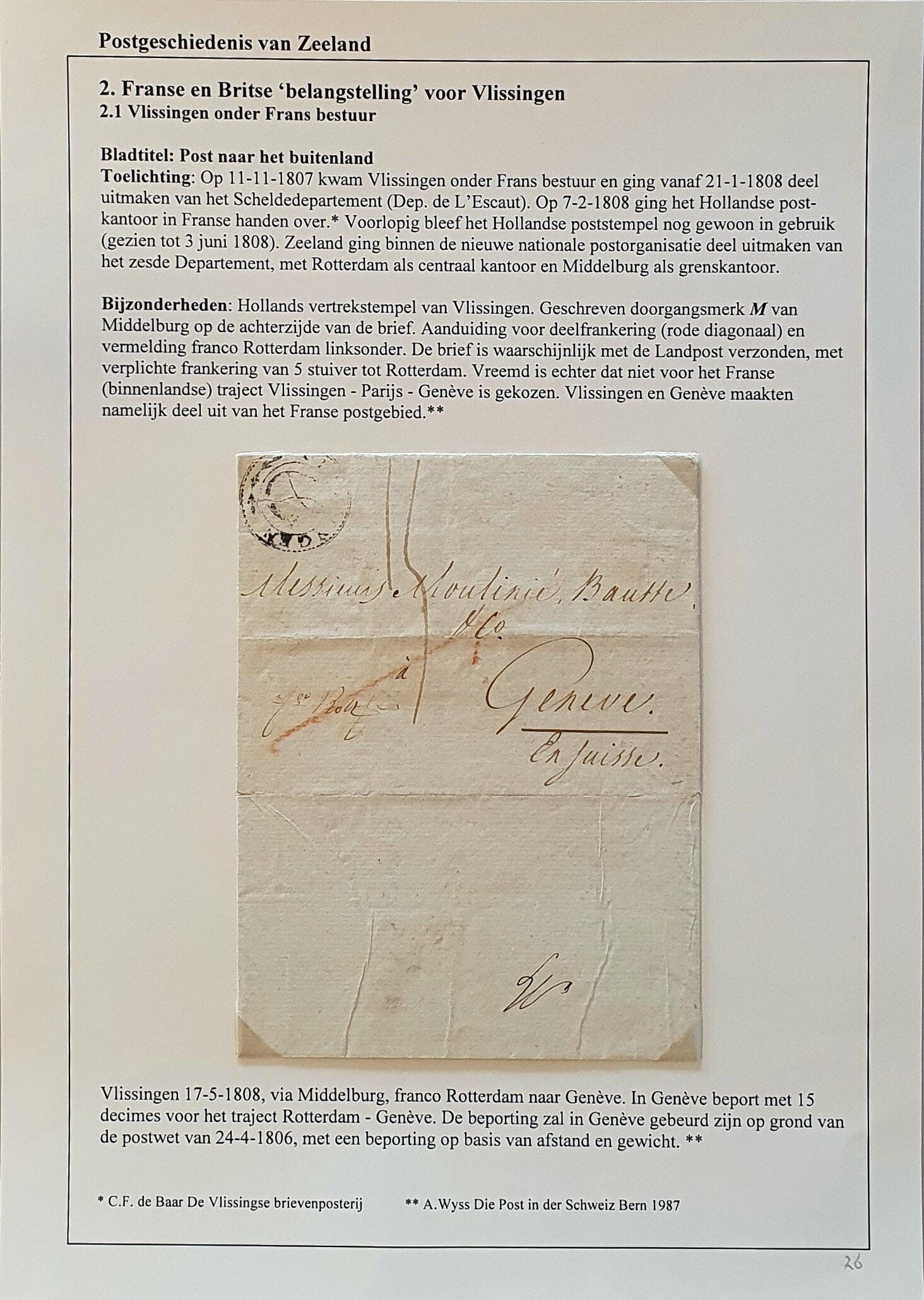 Lot 2324 - Netherlands and former colonies Netherlands -  Corinphila Veilingen Auction 250-253 - Day 3 - Netherlands and former colonies - Single lots & Picture postcards