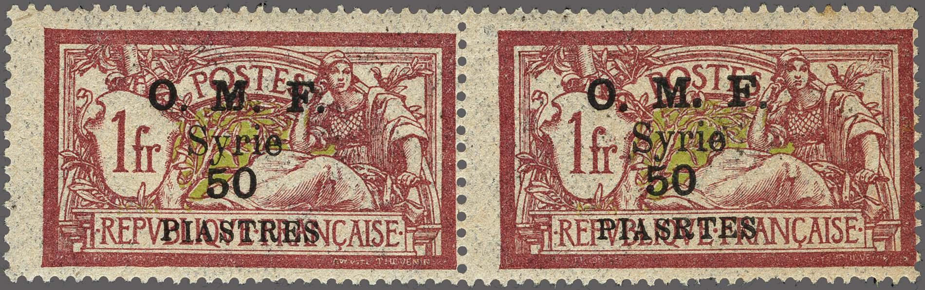 Lot 115 - France and former colonies syria -  Corinphila Veilingen Auction 250-253 - Day 1 - Foreign countries