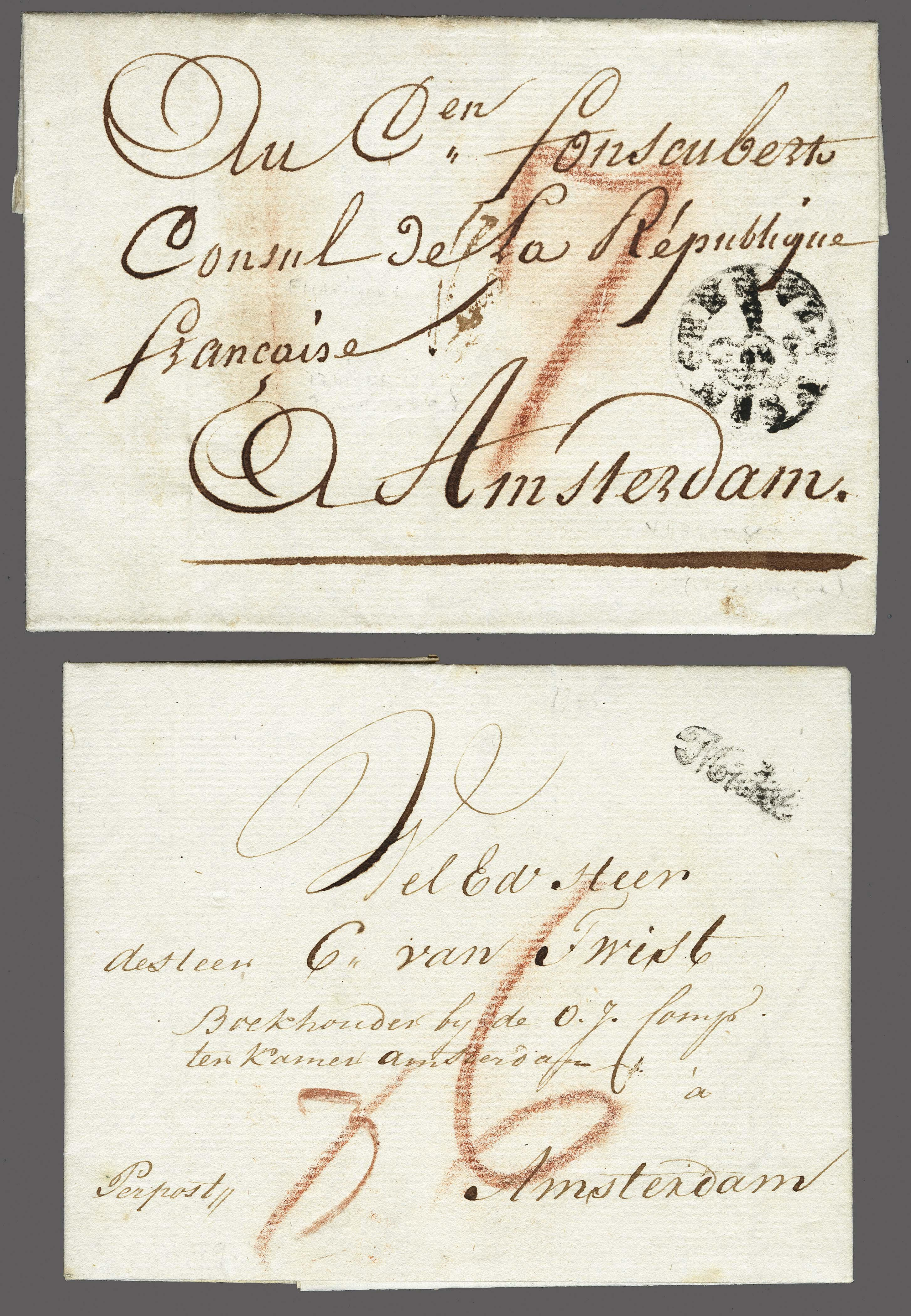 Lot 2313 - Netherlands and former colonies Netherlands -  Corinphila Veilingen Auction 250-253 - Day 3 - Netherlands and former colonies - Single lots & Picture postcards