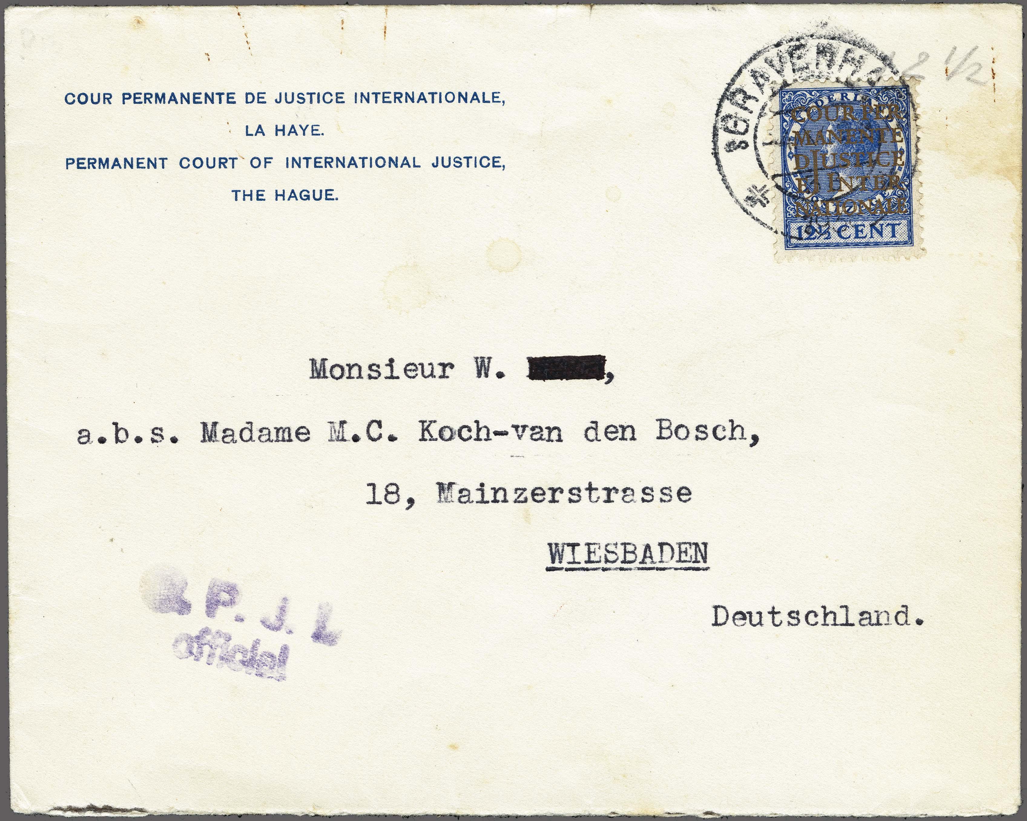Lot 2635 - Netherlands and former colonies Netherlands Official Stamps -  Corinphila Veilingen Auction 250-253 - Day 3 - Netherlands and former colonies - Single lots & Picture postcards