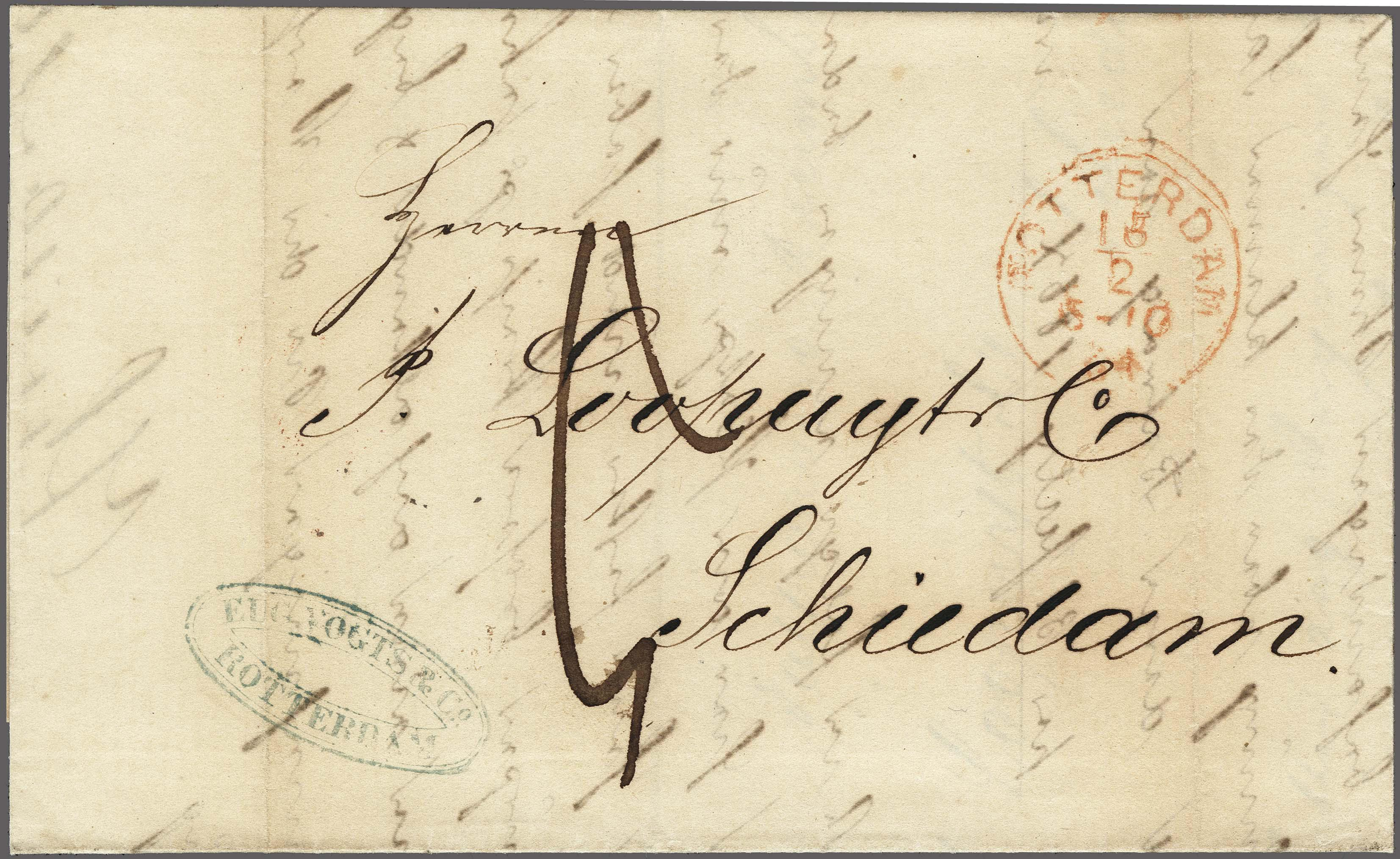 Lot 2455 - Netherlands and former colonies Netherlands -  Corinphila Veilingen Auction 250-253 - Day 3 - Netherlands and former colonies - Single lots & Picture postcards