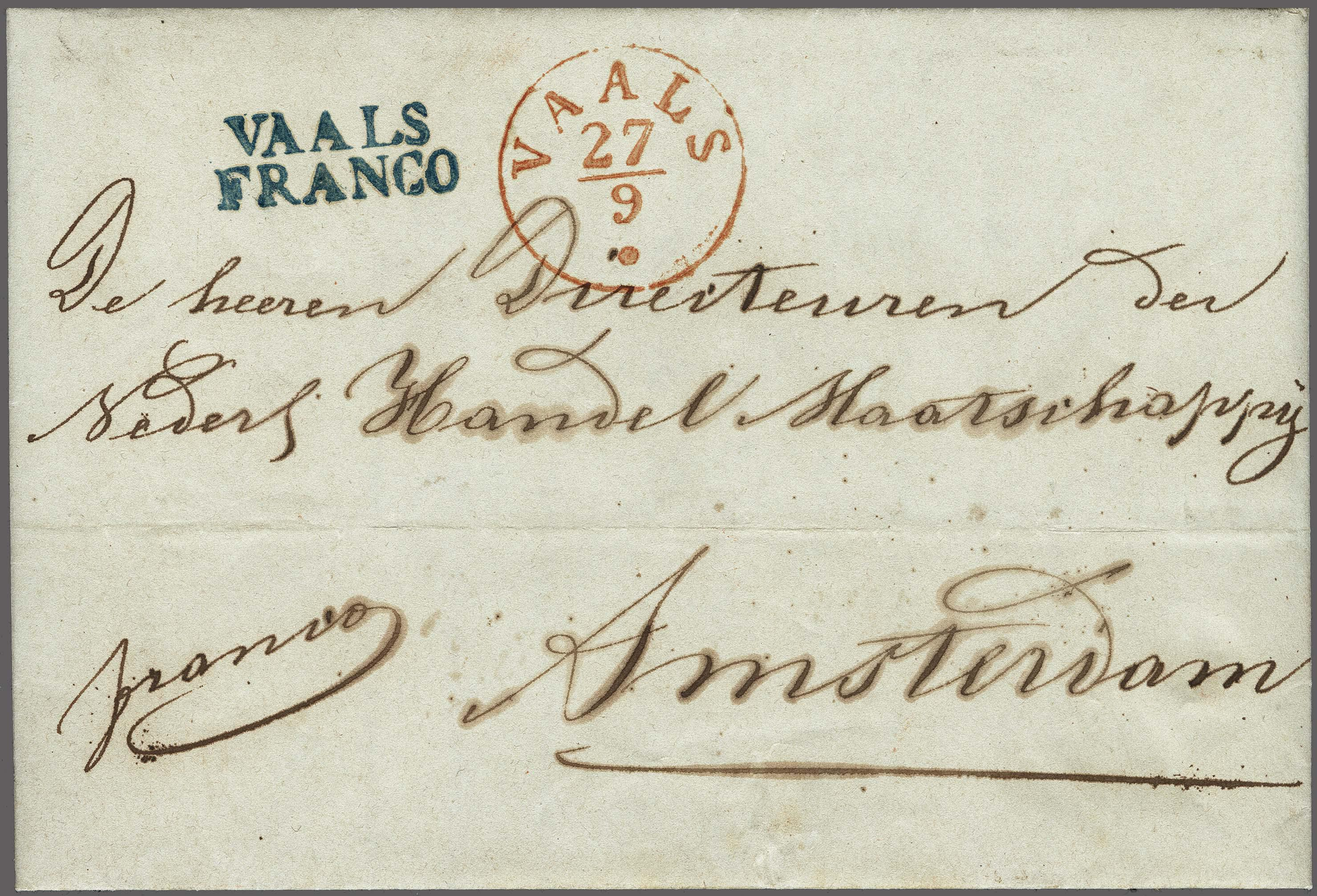 Lot 2466 - Netherlands and former colonies Netherlands -  Corinphila Veilingen Auction 250-253 - Day 3 - Netherlands and former colonies - Single lots & Picture postcards