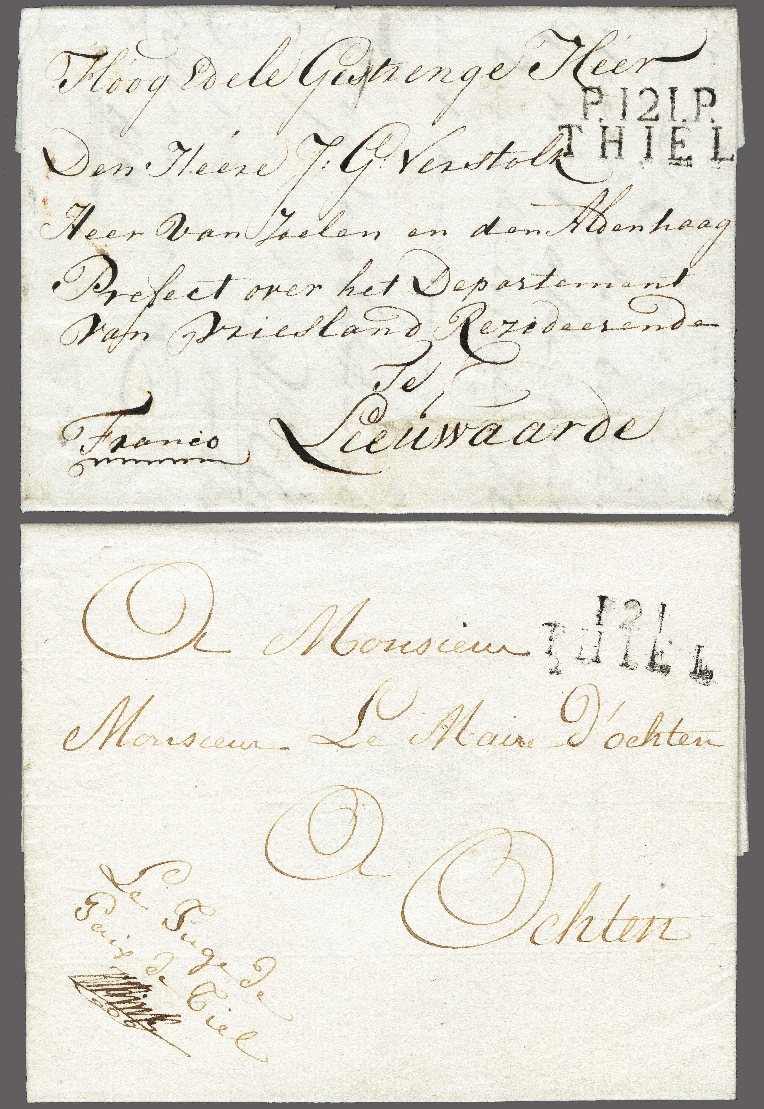 Lot 2352 - Netherlands and former colonies Netherlands -  Corinphila Veilingen Auction 250-253 - Day 3 - Netherlands and former colonies - Single lots & Picture postcards