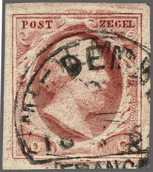 Lot 2510 - Netherlands and former colonies NL Semi-circular Cancellation -  Corinphila Veilingen Auction 250-253 - Day 3 - Netherlands and former colonies - Single lots & Picture postcards