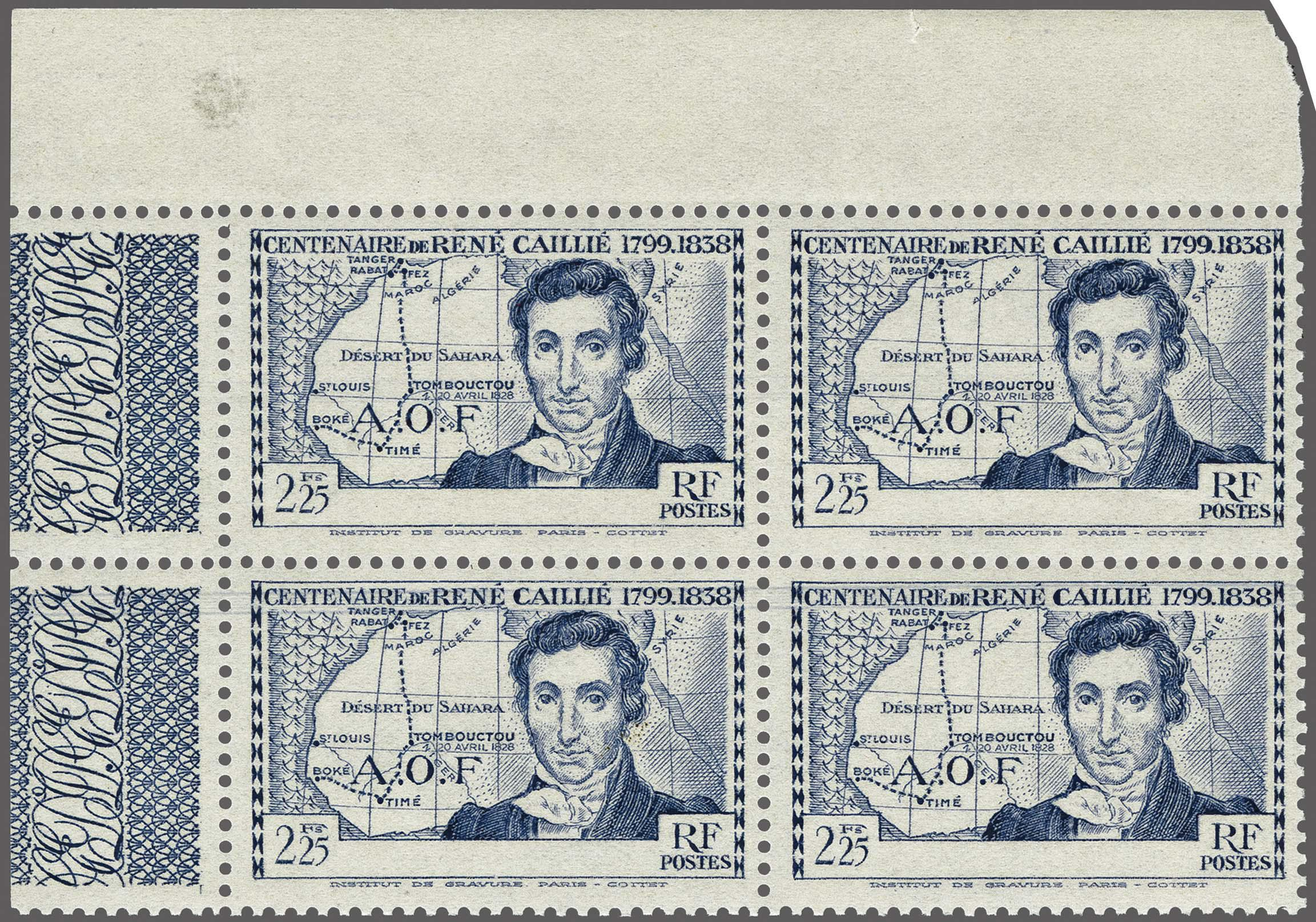 Lot 107 - France and former colonies ivory coast -  Corinphila Veilingen Auction 250-253 - Day 1 - Foreign countries