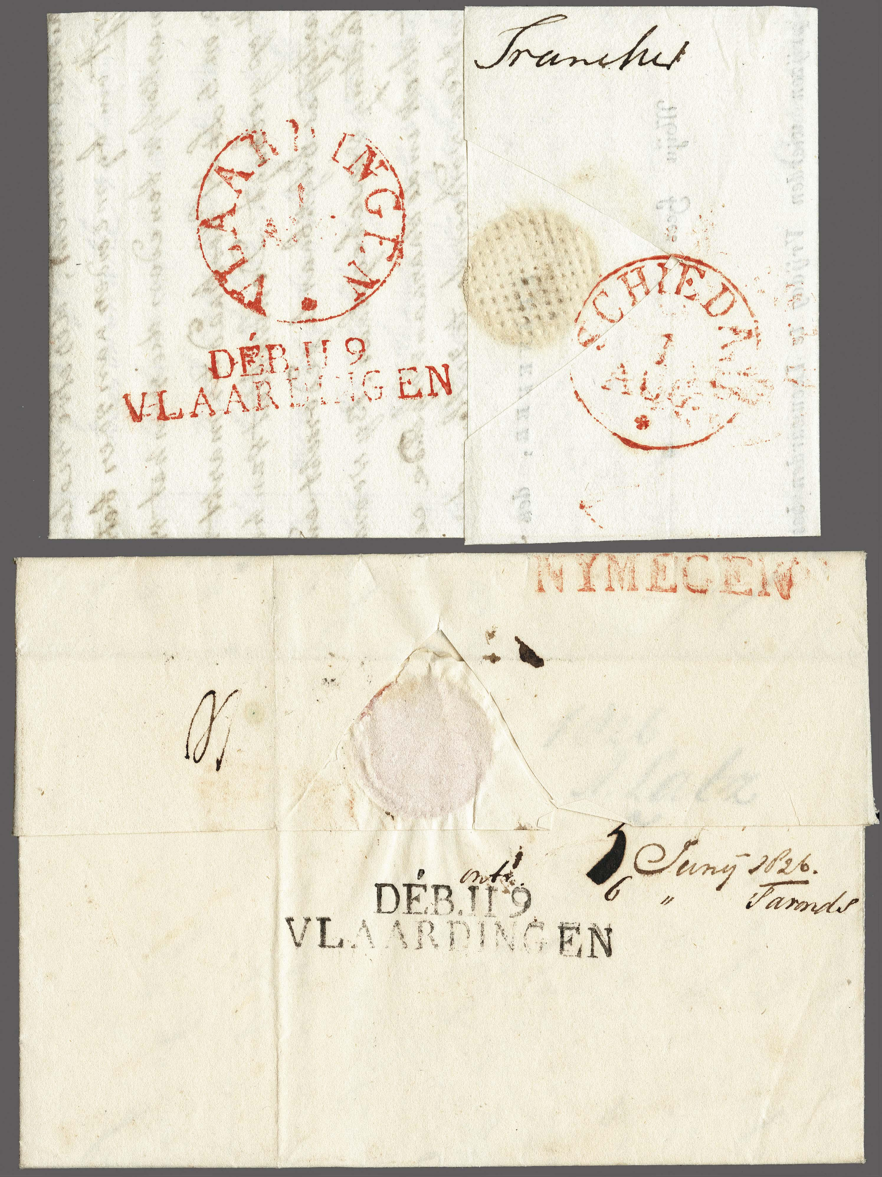 Lot 2393 - Netherlands and former colonies Netherlands -  Corinphila Veilingen Auction 250-253 - Day 3 - Netherlands and former colonies - Single lots & Picture postcards