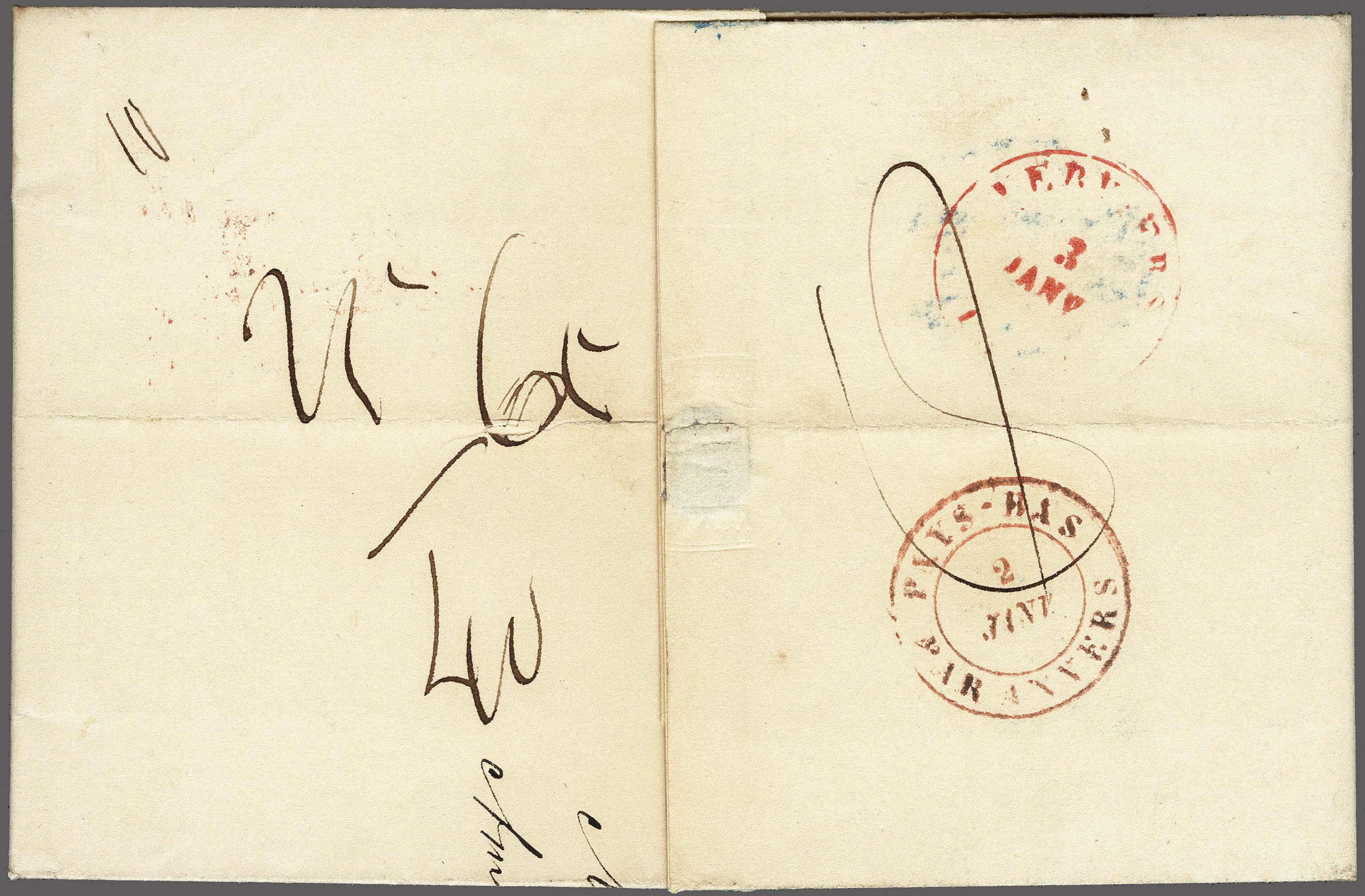 Lot 2464 - Netherlands and former colonies Netherlands -  Corinphila Veilingen Auction 250-253 - Day 3 - Netherlands and former colonies - Single lots & Picture postcards