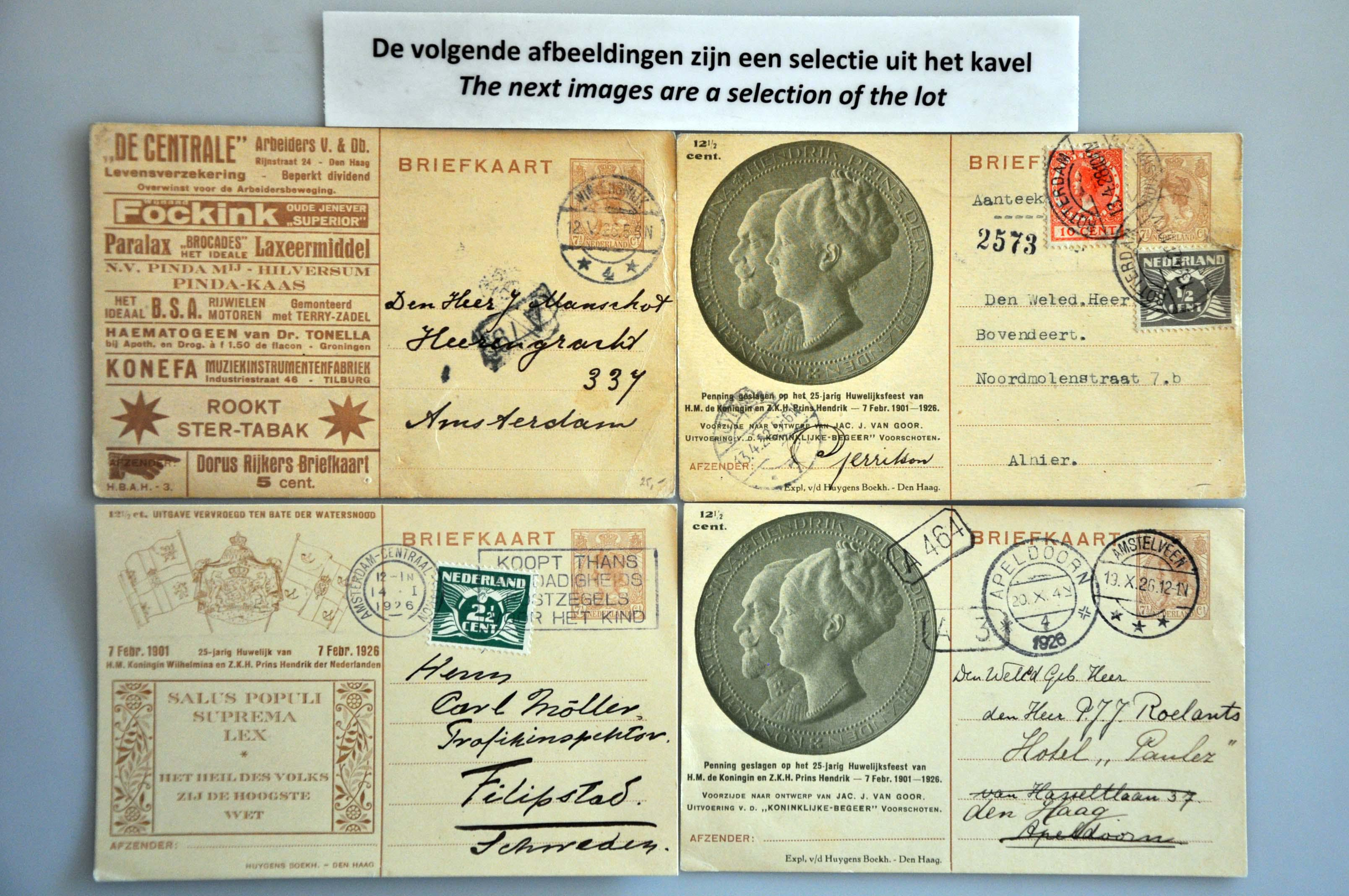 Lot 1662 - Netherlands and former colonies Netherlands -  Corinphila Veilingen Auction 250-253 - Day 2 - Coins, medals, Netherlands and former colonies