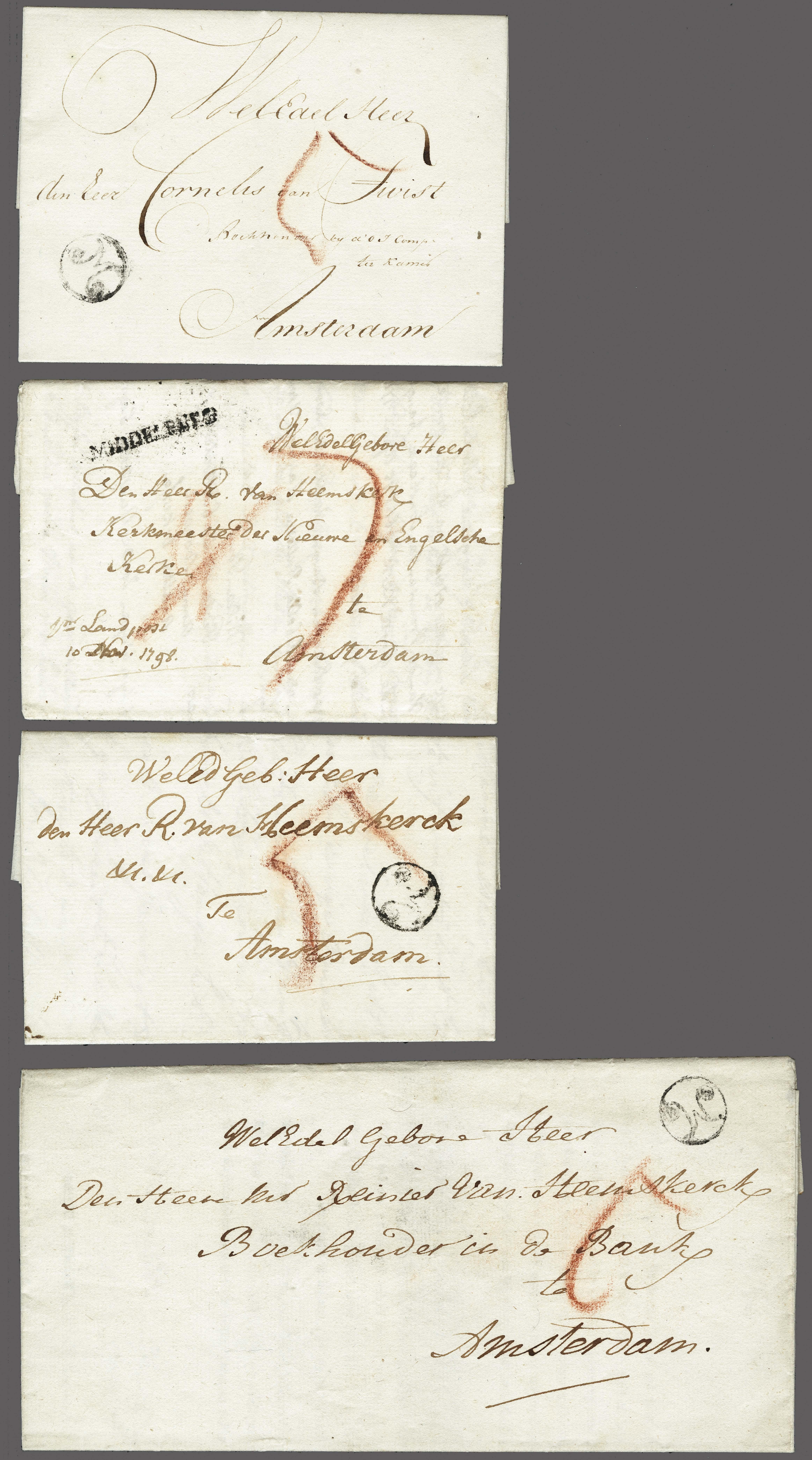 Lot 2315 - Netherlands and former colonies Netherlands -  Corinphila Veilingen Auction 250-253 - Day 3 - Netherlands and former colonies - Single lots & Picture postcards